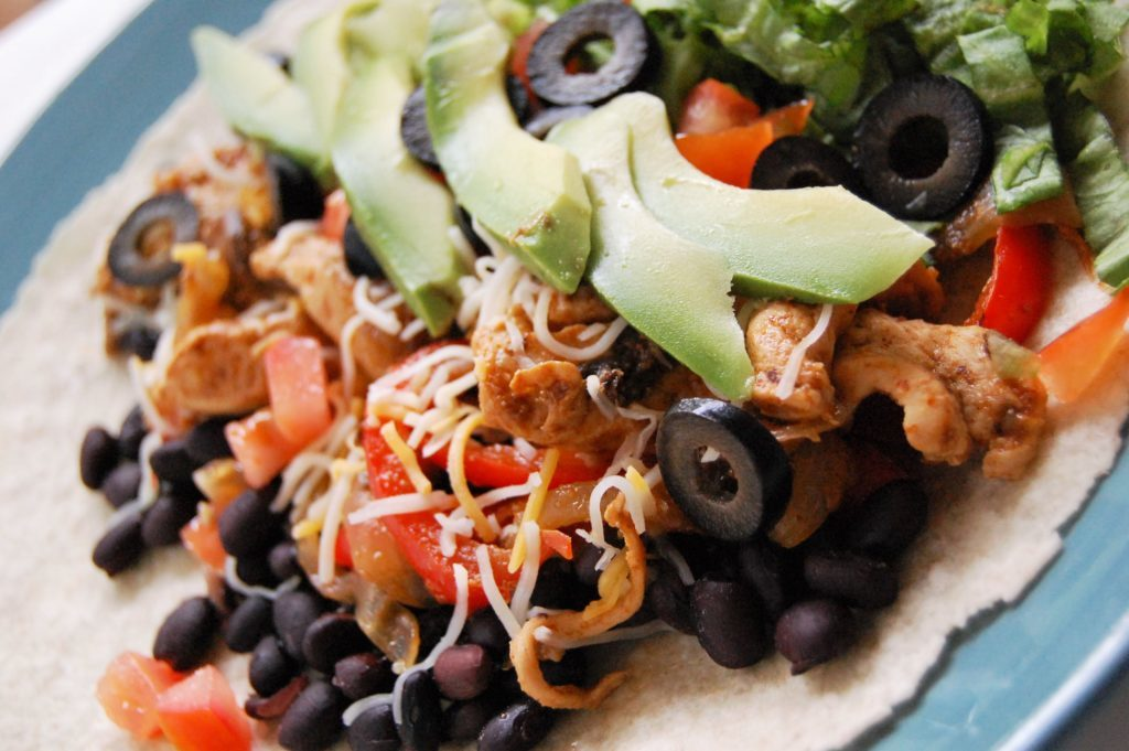 Freezer Fajita Chicken