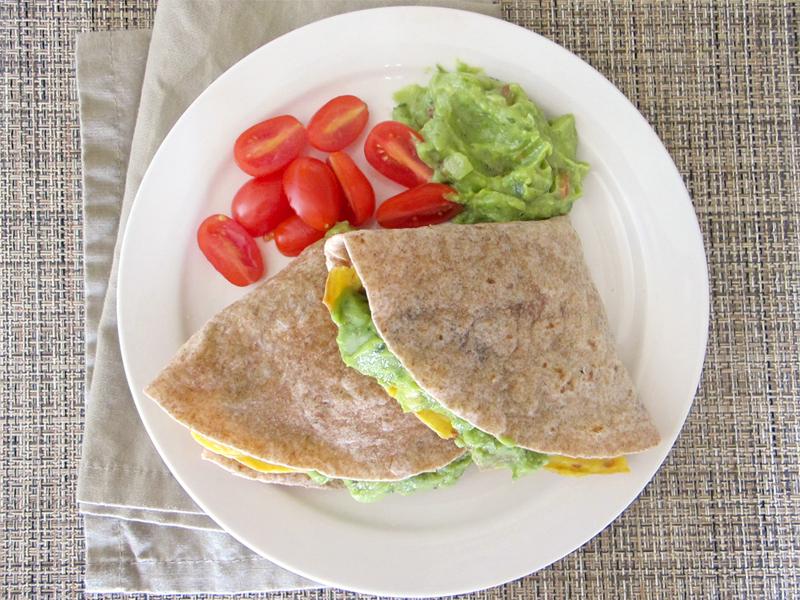 Guacamole Omelette Wraps