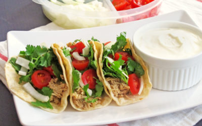Shredded Chicken Tacos: